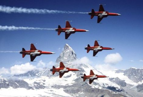 Foto: Força Aérea Suíça