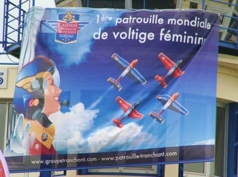 Banner da Patrouille Tranchant - via Irina Markova